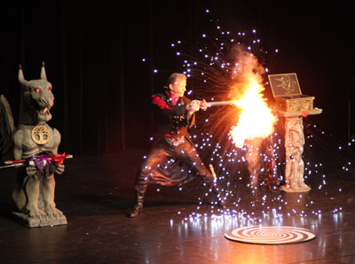 Spectacle magie feu 60